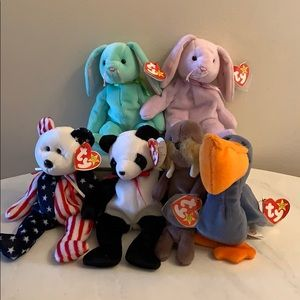 Other - 🐻Rare Authentic Original Beanie Babies🐻